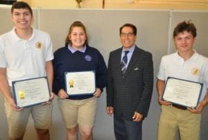 Notre Dame High School Notre Dame Students Take Top 2 Places