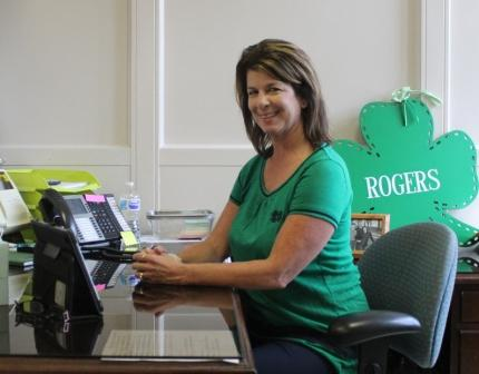 Claudine Rogers '86 : Assistant Athletic Director/Administrative Assistant